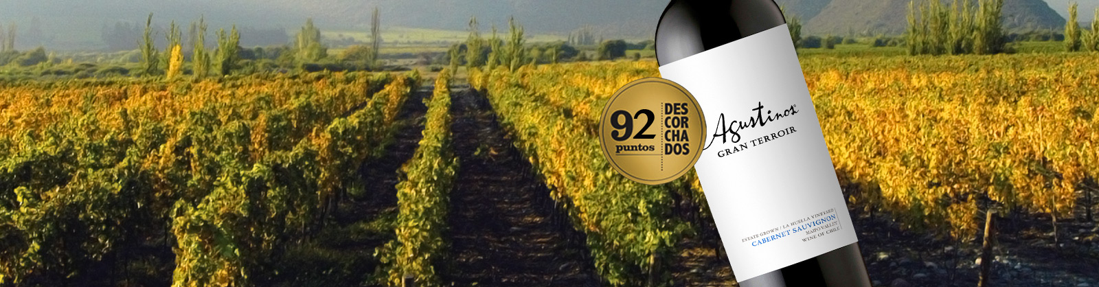 High score for Agustinos in 2015 Descorchados Wine Guide